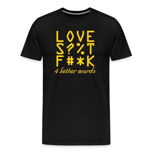 Love T - Men's Premium T-Shirt
