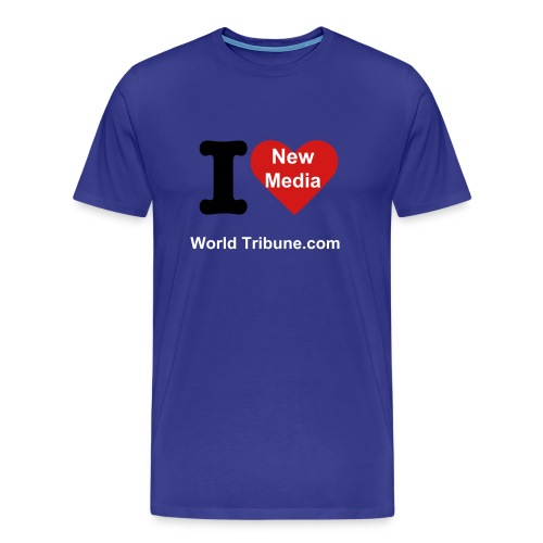 New Media - Men's Premium T-Shirt