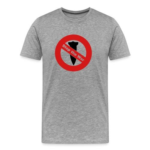 Stop the War T-shirt - Men's Premium T-Shirt