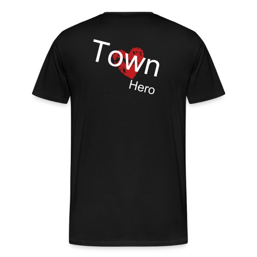 Town Hero (b) - Men's Premium T-Shirt