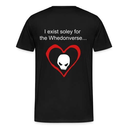 Existing for the Whedonverse - Men's Premium T-Shirt