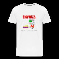 T-Shirts ~ Men's Premium T-Shirt ~ Heavyweight cotton T-Shirt - Chipwit and pie