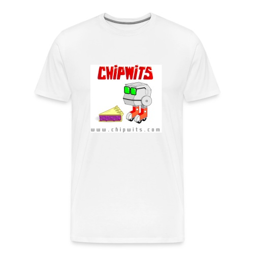 Heavyweight cotton T-Shirt - Chipwit and pie - Men's Premium T-Shirt