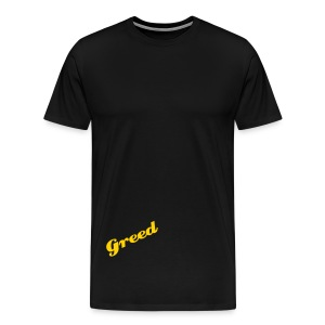 Greed Yellow - Men's Premium T-Shirt
