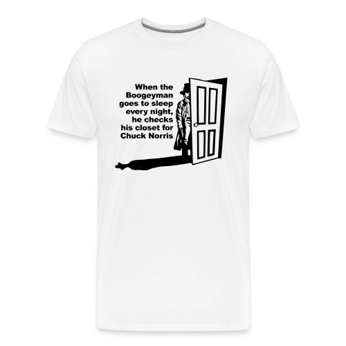 norris vs boogieman - Men's Premium T-Shirt