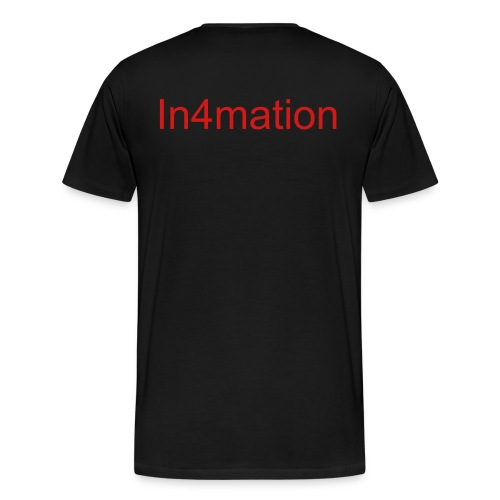 Tee Shirt (In4mation) - Men's Premium T-Shirt