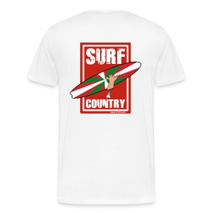 red surf country - Men's Premium T-Shirt