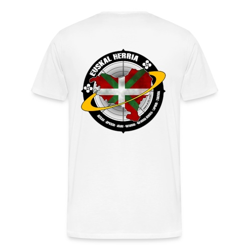 Basque world - Men's Premium T-Shirt