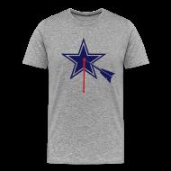 T-Shirts ~ Men's Premium T-Shirt ~ Dallas STARGET2-color  Tshirt