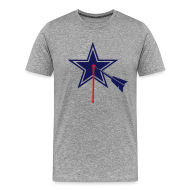 T-Shirts ~ Men's Premium T-Shirt ~ Dallas STARGET2-color  Tshirt