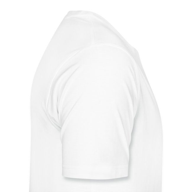 wanna fight mens white tee