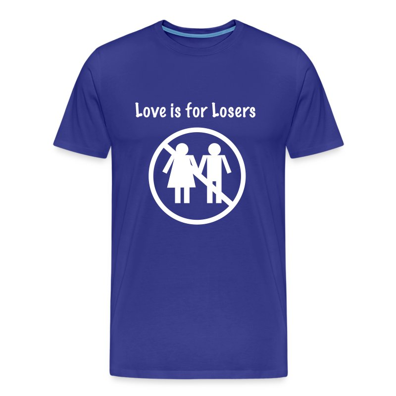 love sucks mens tee - Men's Premium T-Shirt