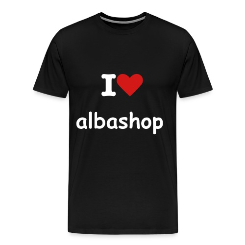 I Love Albashop - Men's Premium T-Shirt