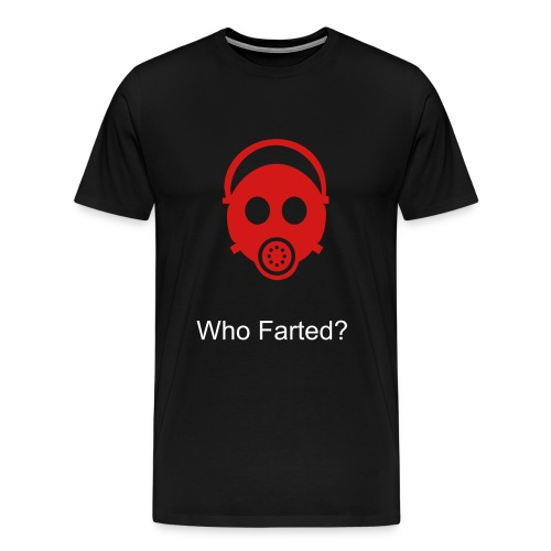 farting gasmask - Men's Premium T-Shirt