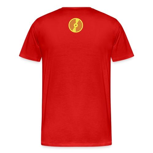 Buckaroo Johnson Men's T-shirt-RED - Men's Premium T-Shirt