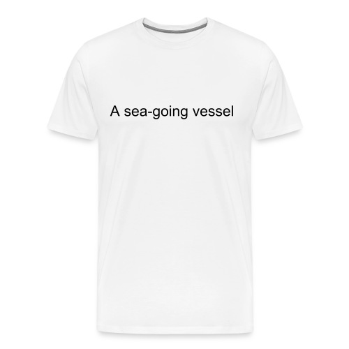 Boat - Men's Premium T-Shirt