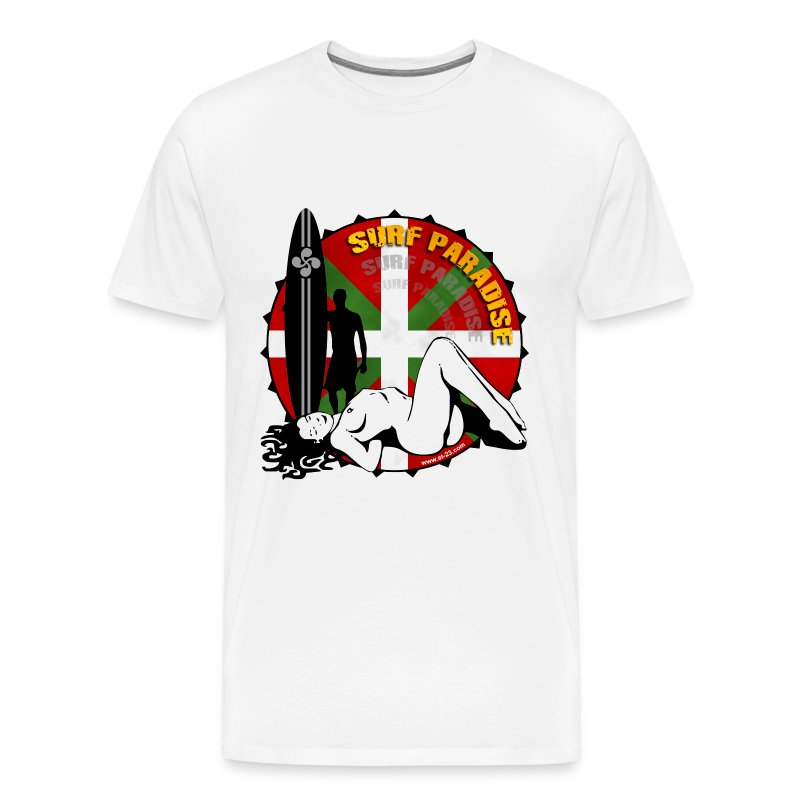 sexy surf girl - Men's Premium T-Shirt