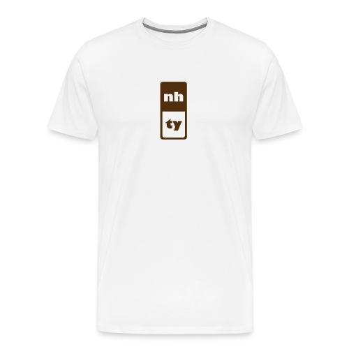 nh,ty natural - Men's Premium T-Shirt
