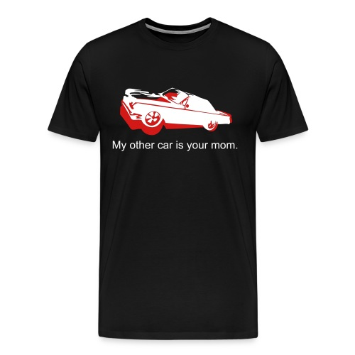 car-mom - Men's Premium T-Shirt