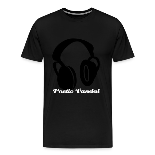 headphones - Men's Premium T-Shirt