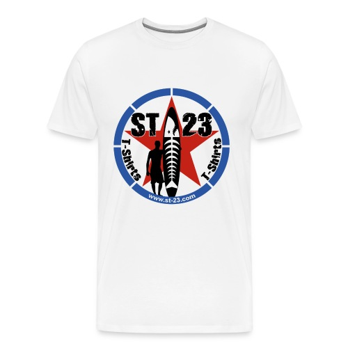 st23 logo - Men's Premium T-Shirt