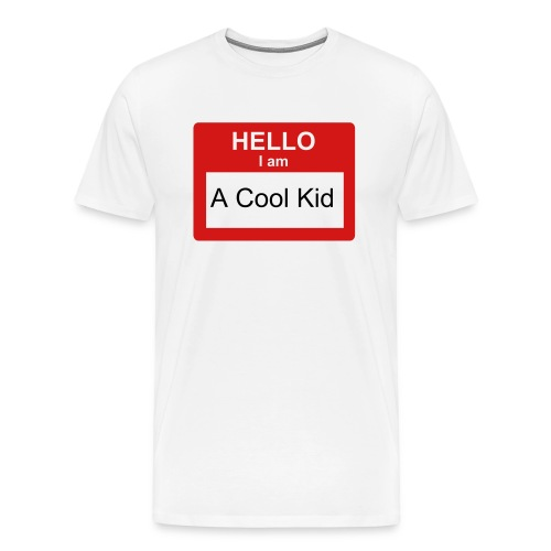 A cool kid - Men's Premium T-Shirt