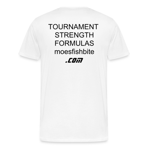 TOURNAMENT STRENGTH FORMULAS - Men's Premium T-Shirt