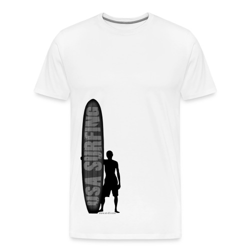 USA Surfing - Men's Premium T-Shirt