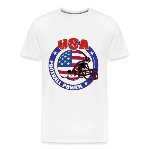 Football power - Men's Premium T-Shirt