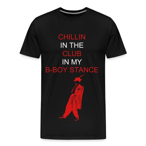 B-BOY STANCE - Men's Premium T-Shirt
