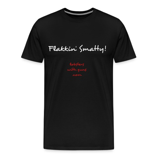 Flakkin' Smatty! - Men's Premium T-Shirt