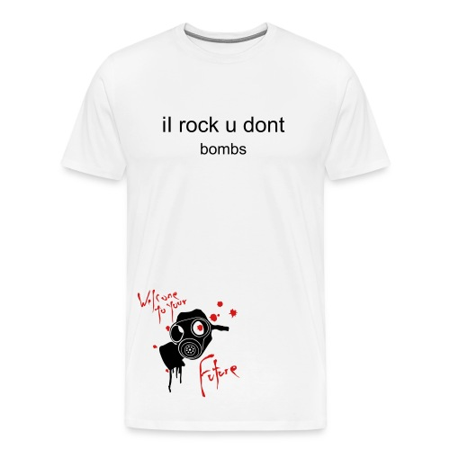 I rock u dont - Men's Premium T-Shirt