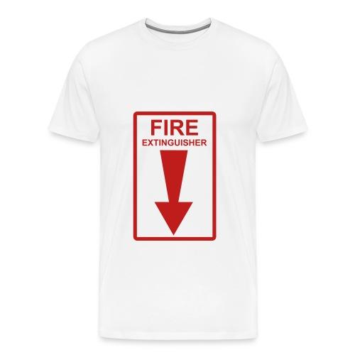 Put out the fire. - Men's Premium T-Shirt