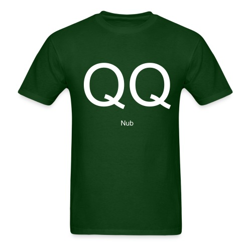 QQ NUB passion control shirt - Men's T-Shirt