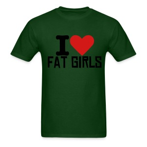 I Heart Fat Girls T - Men's T-Shirt