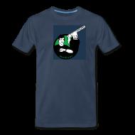T-Shirts ~ Men's Premium T-Shirt ~ The World's Most Violent Logo