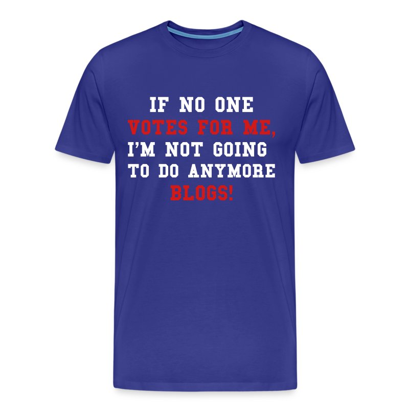 Gilbert Blog Quote! Special Blue Mens - Men's Premium T-Shirt