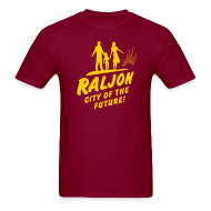 T-Shirts ~ Men's T-Shirt ~ RALJON, City Of The Future T-shirt