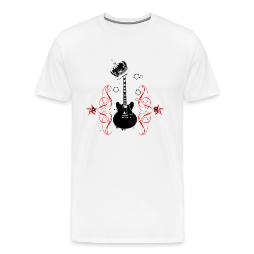 King Of Rock Tee - Men's Premium T-Shirt