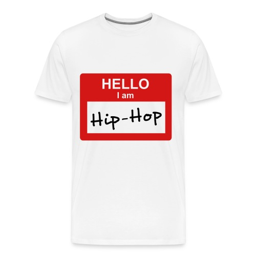 Hip-Hop Tee - Men's Premium T-Shirt