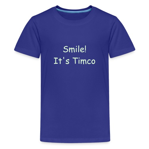 New! smile, it's timco kids tee - Kids' Premium T-Shirt