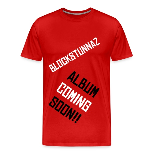 BLOCKSTUNNAZ - Men's Premium T-Shirt