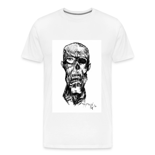 Zombie In My Nightmares - Men's Premium T-Shirt