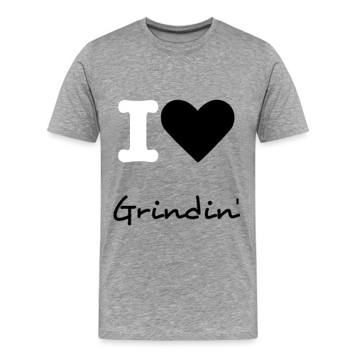 I luv Grindin' - Men's Premium T-Shirt