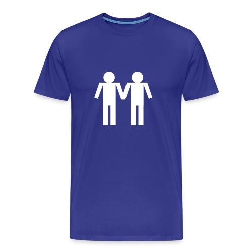 Guy Couple - Men's Premium T-Shirt