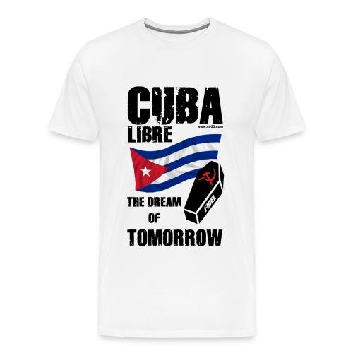 Cuba si, castro no. - Men's Premium T-Shirt