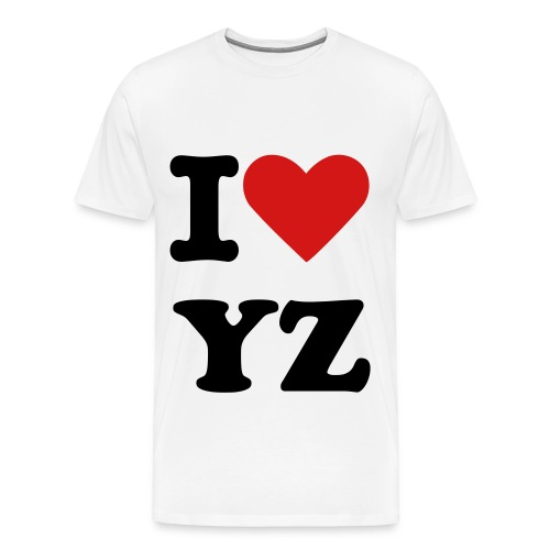 I Love YZ Tee S,M,L - Men's Premium T-Shirt