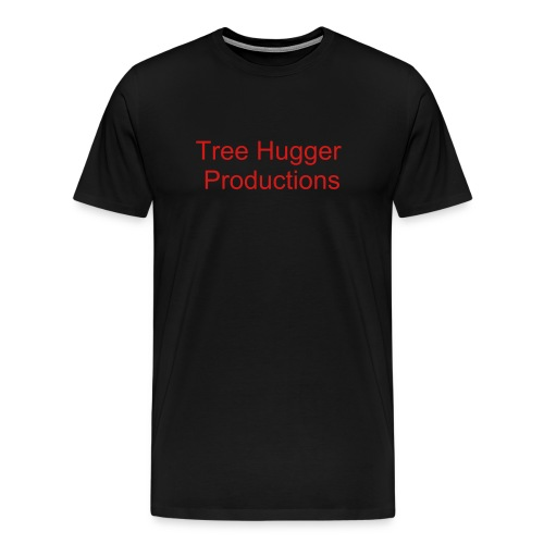 Tree Hugger Productions Main Logo - Men's Premium T-Shirt