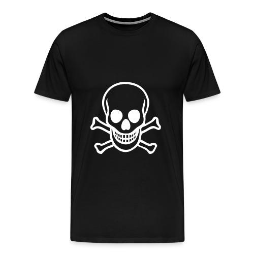 Skull & Crossbones T-Shirt - Men's Premium T-Shirt