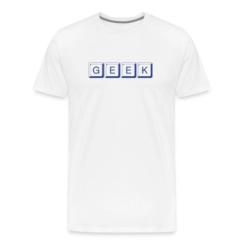 GEEK TEE - Men's Premium T-Shirt